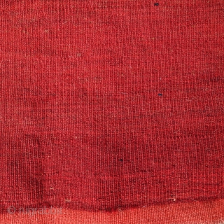 Yomut Tschowal in need of a good home, 145x85cm, beginning of 20th century, good pile all over, no repairs,glossy wool and wonderful coral-red madder, carefully washed.