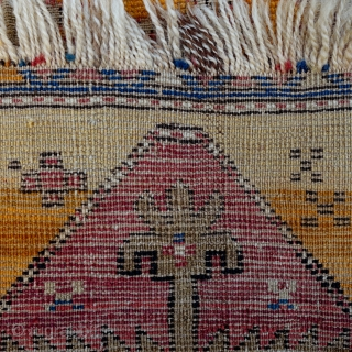Antique, Anatolian rug, 122x95cm, handwashed, desperately looking for a new home.