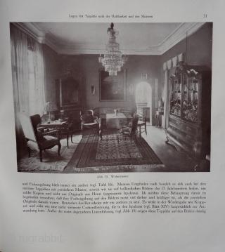 Werner Grote-Hasenbalg: Der Orientteppich - Seine Geschichte und seine Kultur  Berlin, Scarabäus-Verlag., 1922