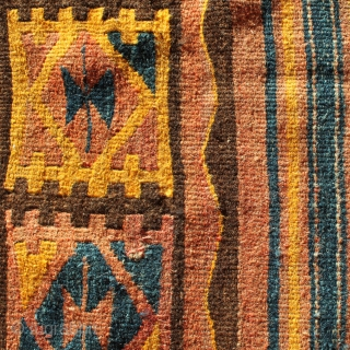 Moghari kilim from east Afghanistan, 340x130cm, beginning of 20th century.
