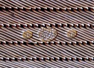 "Beautiful pair of Ottoman silver bracelets, hallmarked. 2""W x 6.5"" L."