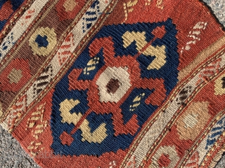 Central Anatolian bag, late 19th century, 80 x 44 cm, good colors and condition.