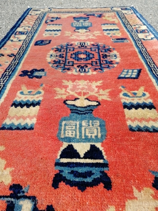 Semiantique chinese/mongolian rug. 
