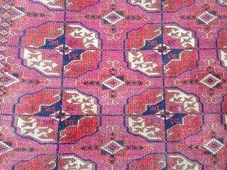Turkmen tekke antiqe mint condition size:188x108-cm good price