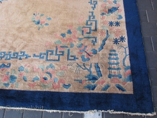 Pecking Chinese size:360x300-cm / 141.7x118.1-inches Ask about this Email for more info and pics