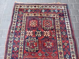 Kurdish rug antiqe size:210x118-cm please ask