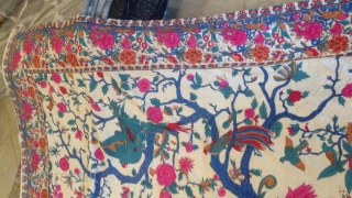 Textile India or Persian ? Size:266x213-cm