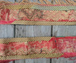 "Antique Lakai - Uzbek Door Surround -19th Century 34""x77"" 