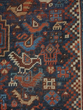 Khamseh Bird rug 