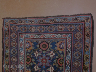 lovely Kurdish runner 3'4''x10'8'' Superb condition  Healthy pile  all natural dyes  circa 1890s to 1910s