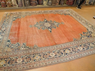 10'1''x11'4'' Sultanabad circa 1880s 