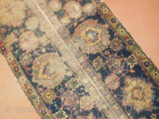 early Isfahan Fragment  2'7''x10'