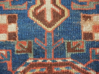 Early Kurd Fragment  16''x52'' all natural dyes