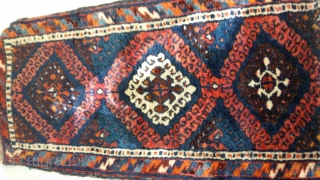 Anatolian old kurdish yastik rug