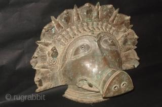 The Boar (Panjurli) BHUTA Mask from Karnatka region.