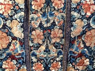 Dao-quan brocade Silk c'in dinasty i XIX century Perfect condition