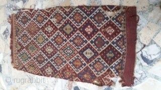east anatolian kilim yastik , over 150 years old.