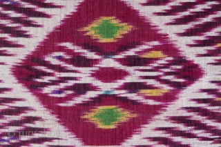 Bali | antique silk ikat body-wrapper (anteng endek)