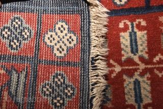 Khotan or Yarkand beaituful saph. 136cm x 70cm = around 53 x 27 inches