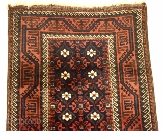 Baluch with classic design. In good condition without repairs. 175cm x 92cm