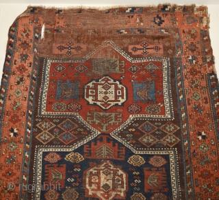 "Late 19th century Southeast Anatolian. Size: 212cm x 130cm / 6'11.46"" x 4′ 3.18″"