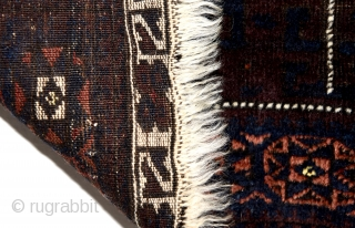 Baluch bag face. In very good condition and all natural colours. Soft and shiny wool.   60cm x 80cm