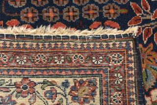 Early 1900's Kashan. Size: 206 cm x 135 cm