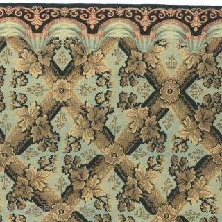 "Antique Bessarabian Rug East Europe ca.1830 13'4"" x 11'9"" (407 x 359 cm) FJ Hakimian Reference #02692"