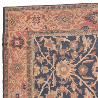 """Antique Persian Sultanabad Rug Persia ca.1900 14'3"""" x 10'8"""" (435 x 326 cm) FJ Hakimian Reference #06060"""