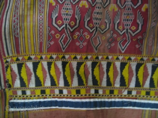 Borneo, Iban Dayak Galambik Jacket.50 x 50 Cm. For more : http://indonesia-textile.blogspot.com
