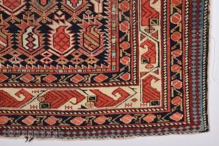 19th Century Marasali Prayer Rug size 130x148 cm