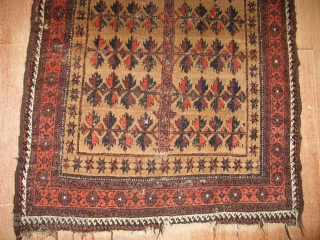 4692-Baluch prayer rug 160x97