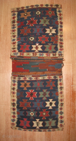 4638-shahsavan kilim saddlebag 143x58
