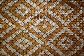 Phulkari From West (Pakistan) Punjab India called As Rare Patang Design Bagh.Floss Silk on Hand Spun Cotton khaddar Cloth.(DSL03550).