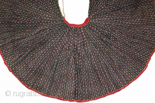 Manchester Roller Print Cotton Ghaghra(Skirt) From Shekhawati District Of Rajasthan India.C.1900.Manchester England made for Indian Market.Its size is W-78cm to 19 Miters.(DSL03600).