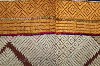 Phulkari from West(Pakistan)Punjab India Called As Chand Bagh.Rare Design.Extremely Fine Phulkari.(DSE02900).