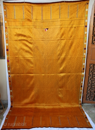 Vari-Da-Bagh from West (Pakistan) punjab India Called As Vari-Da-Bagh,Very Rare influnence of Njariya Design.This bagh was gifted to the bride by her in-laws when she was entering their house, her new home,  ...