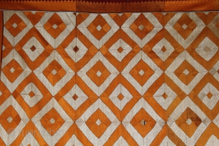 Vintage Phulkari from west (Pakistan) Punjab India Called As Patang Bagh,Very Rare influence of Design.Prefect Condition(DSC00600New).