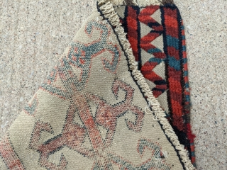 """19th Century Yomud tentband fragment. 1'6"""" x 8'3"""". Great colors, cotton hihglights, and good size. No color bleed.   Cheers."""