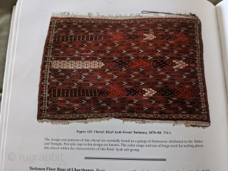 Rare Ersari Kizyl Ayak or Yomud / Yomut chuval. This design is more common on flatweaves. Full pile and some of the softest wool I've seen with a tight weave. Let me  ...