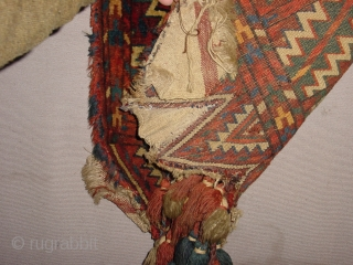 okbash yomut, great condition 1880/1870, wonderful natural colors, one very tiny irregularity at headend, no repairs 45x64cm 1.5x2.1ft without the tassels