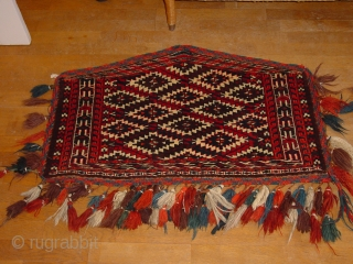 wonderful pait antique turkoman asmalyks,  in great condition, 