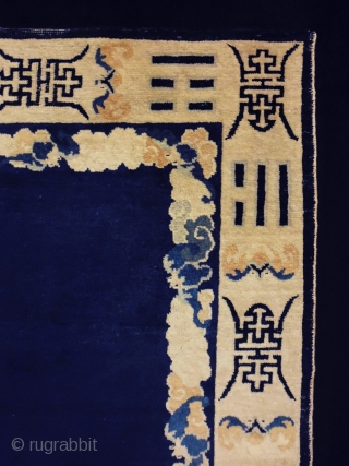 Chinese  Size: 88x130cm (2.9x4.3ft) Naturalcolors, made in circa 1910