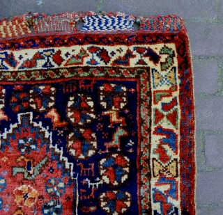 Qasqhay Bagface Size: 61x66cm Natural colors, made in period 1910