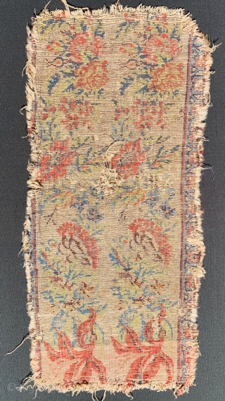 Antique Garus fragment wool on wool size 73x35cm