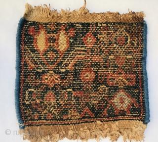 antique Senneh Wagireh,size 20x20cm