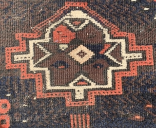 Baluch bagface 1880 circa size57x80cm