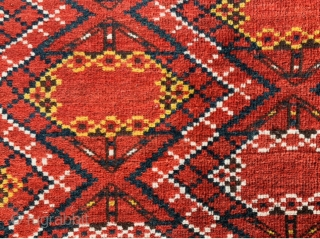 large Turkmen Ersari Chuval Ikat design,good condation size160x88cm