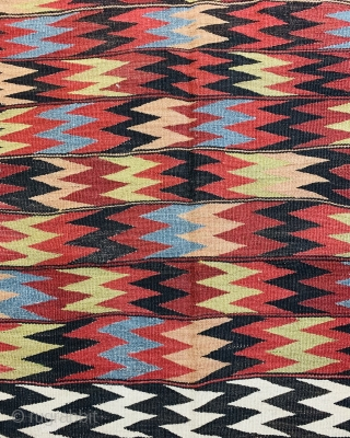 Persian Bijar Kilim 1900 circa  wool on wool all good colors and very good condition size 340x135cm
