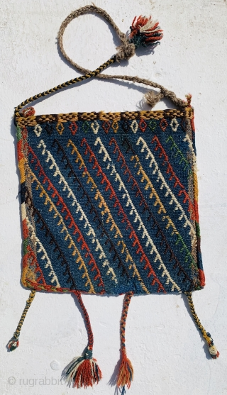 Qashqai bag 1880 circa with a small repair in the back,size31x30cm